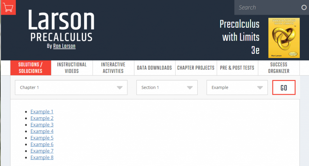 Larson Precalculus Online Resources