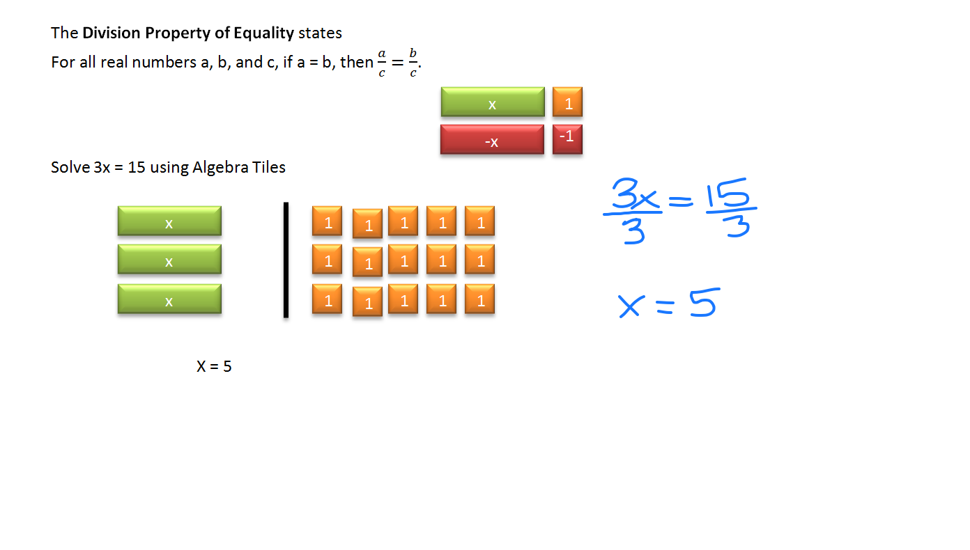Solving Equation Using Multiplication