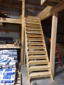 steps to loft