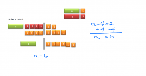 Solving Equations Using Algebra Example 2