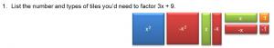 Factor3x+9
