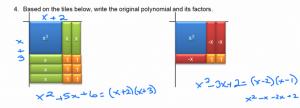 Factoring Using Algebra Tiles