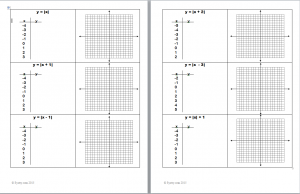 graphing absolute value handout thumbnail