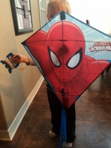spiderman kite