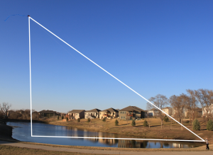 Kite with Right Triangle
