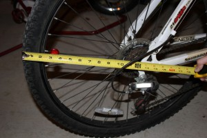 bike tire radius