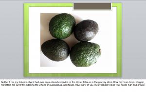 four avocados