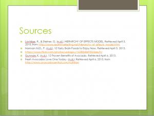 Presentation Sources