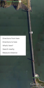 measure distance in google maps